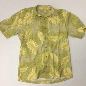 Tommy Bahama Silk Short Sleeve Shirt Size S